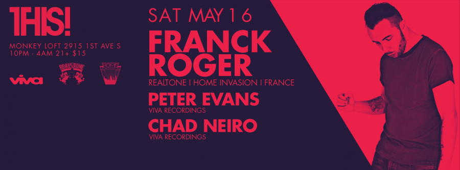 THIS! TONIGHT w/ FRANCK ROGER (Real Tone, France)