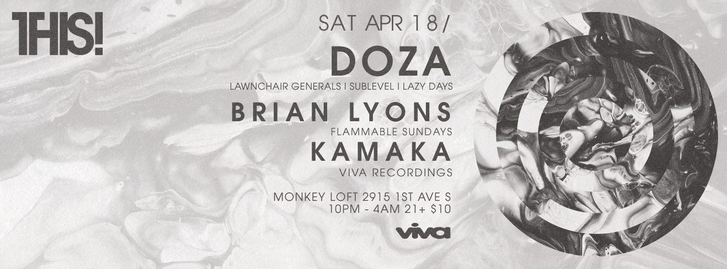 THIS! w/ DOZA, BRIAN LYONS & KAMAKA