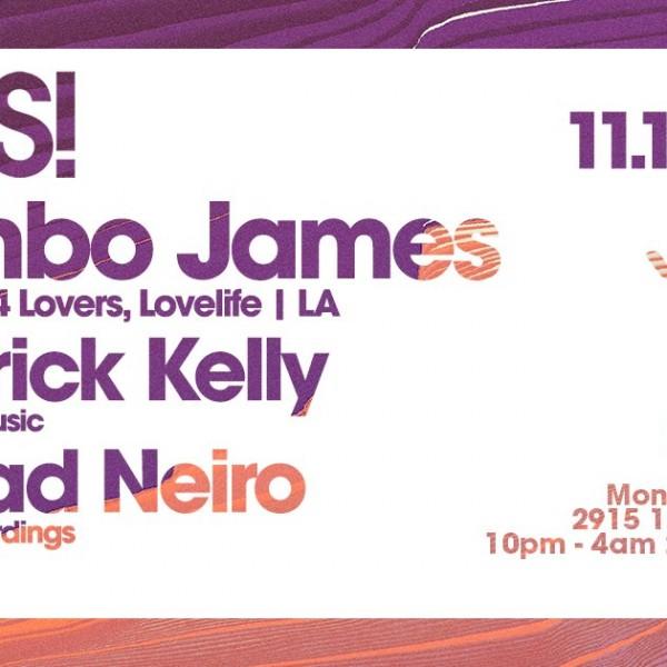 THIS! w/ Jimbo James (Music is 4 Lovers, LA) & Patrick Kelly (Vancouver)