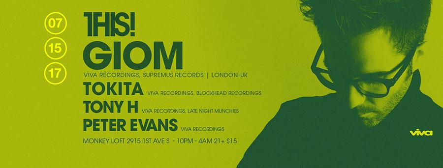 THIS! w/ GIOM (London | UK), Tokita, Tony H and Peter Evans