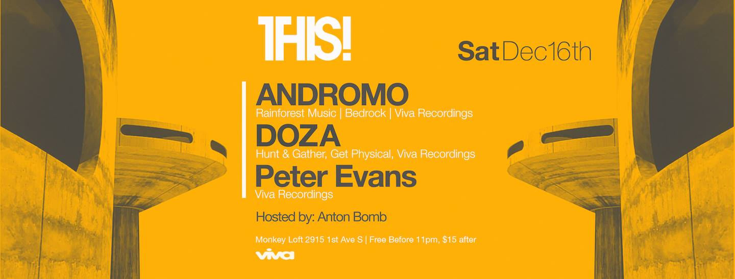 THIS! presents Andromo & Doza