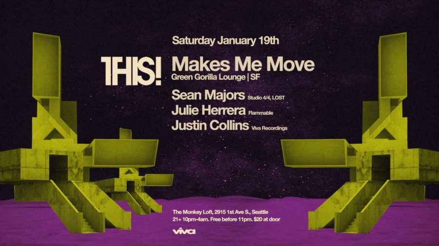 THIS! w/ Makes Me Move, Sean Majors & Julie Herrera