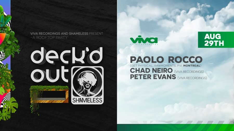 Deck'd Out #11 Paolo Rocco (Montreal) with Viva Recordings