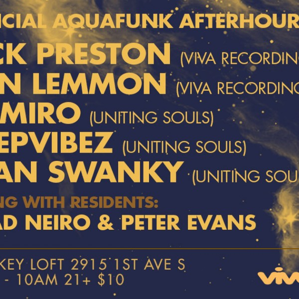 THIS! PRESENTS AQUAFUNK BOAT PARTY AFTERHOURS