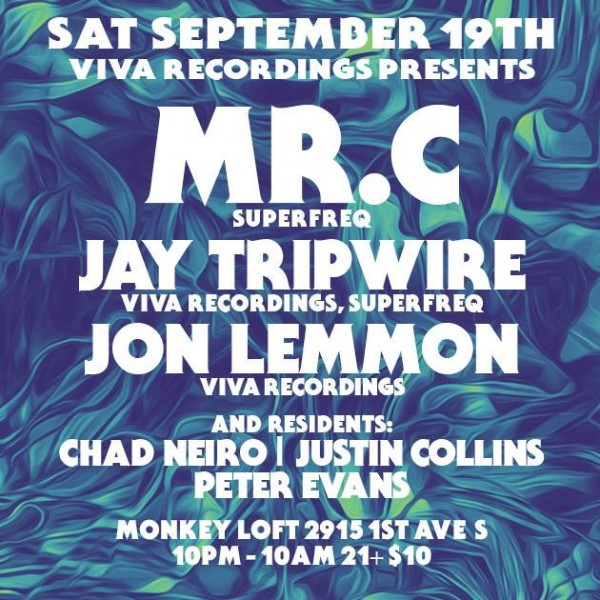 THIS! presents SUPERFREQ'S MR. C & JAY TRIPWIRE