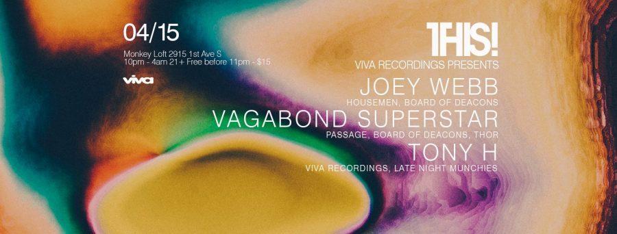 THIS! w/ Joey Webb, Vagabond Superstar & Tony H.