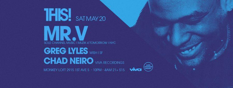 THIS! w/ Mr. V (Sole Channel Music, Muzik 4 Tomorrow   NYC)
