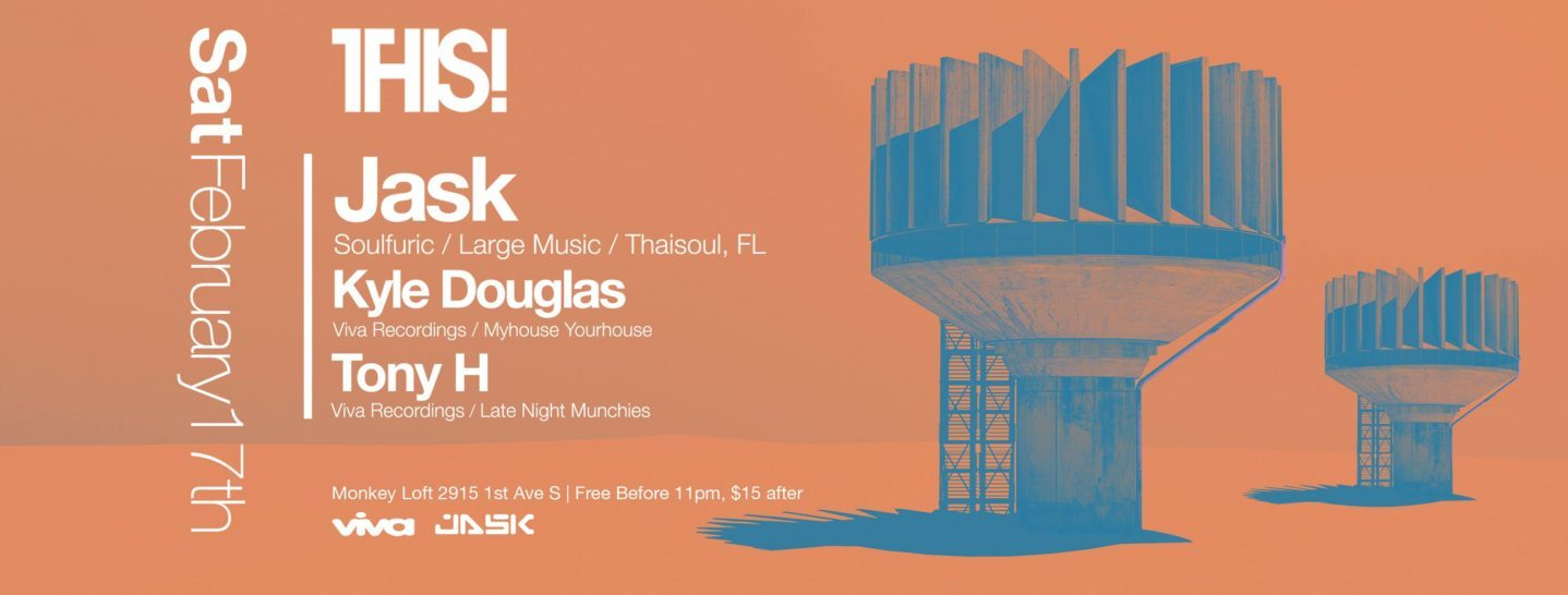 THIS! presents JASK (Soulfuric, Large Music, Tampa)
