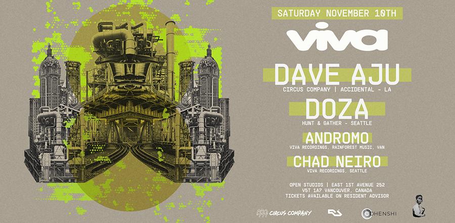 Viva presents Dave Aju & DOZA